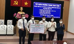 Tập đoàn Phương Trang tặng quận Bình Tân thiết bị y tế trị giá 58 tỷ đồng