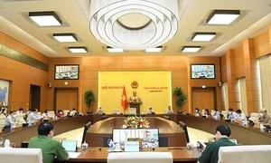 Uỷ ban Thường vụ Quốc hội cho ý kiến về Dự án Luật Cảnh sát cơ động
