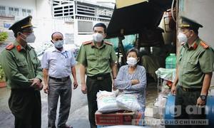 15 tấn gạo nghĩa tình hỗ trợ nhân dân khó khăn của huyện Hóc Môn