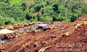 Gia Lai: Tiếp tục khai thác khoáng sản lậu dù đã bị xử phạt