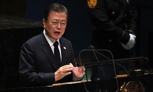 Triều Tiên lên tiếng trước việc Hàn Quốc kêu gọi 'tuyên bố chính thức chấm dứt chiến tranh'