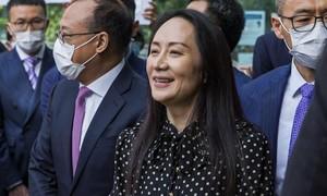 Bà Mạnh Vãn Chu được tự do, rời Canada về Trung Quốc