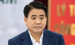 Ông Nguyễn Đức Chung bị truy tố trong vụ mua chế phẩm xử lý nước hồ