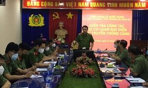 Thứ trưởng Bộ Công an thăm Cơ quan đại diện Cục Truyền thông CAND tại TPHCM