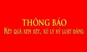 Khai trừ Đảng 2 cựu lãnh đạo Bảo hiểm xã hội Việt Nam