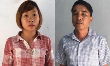 Cặp đôi xưng là phóng viên, cưỡng đoạt tiền của 8 chủ lò than