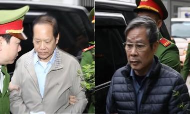 Hai cựu bộ trưởng Nguyễn Bắc Son, Trương Minh Tuấn ra tòa