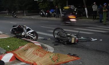 Hai xe máy tông trực diện, 3 người thương vong