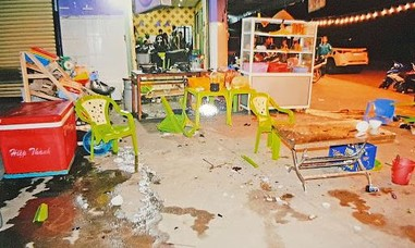 Hỗn chiến tại quán nhậu, 1 người bị đâm tử vong