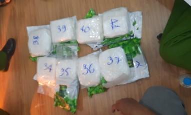 Đột kích nhà kho ở Sài Gòn, thu giữ gần 40 kg ma tuý