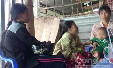 Khốn cùng gia cảnh bé gái 15 tuổi bị cha dượng xâm hại đến sinh con
