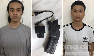 Mang kiếm, súng điện đến phố Tây ở Sài Gòn giải quyết mâu thuẫn