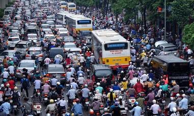 Hà Nội chuẩn bị lộ trình cấm xe máy vào nội đô năm 2030