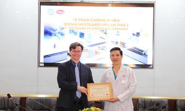 Một bệnh viện công có đơn vị xét nghiệm đạt chuẩn quốc tế lần 2