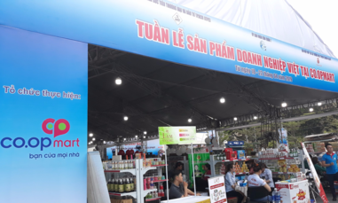 Hàng Việt rộng đường vào Co.opmart