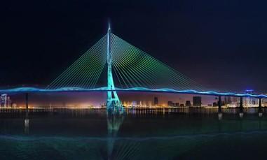 TP.HCM chính thức công bố thiết kế kiến trúc cầu Cần Giờ