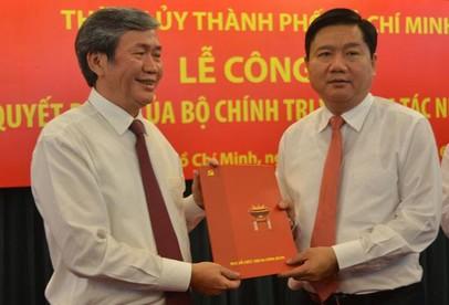 Ông Đinh La Thăng làm Bí thư Thành uỷ TP.HCM