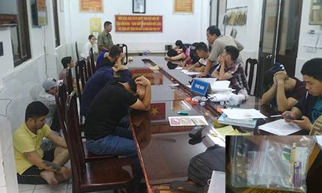 Hàng chục dân chơi phê trong khách sạn có 'mật khẩu' ở Sài Gòn