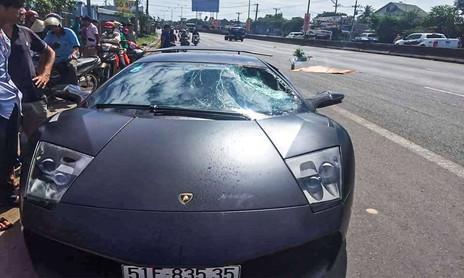 Siêu xe độc nhất Việt Nam tông chết người