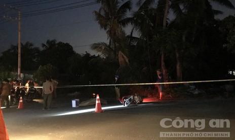 Va quẹt xe, một tài xế container bị đánh chết