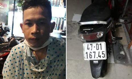 """Tên trộm xe máy sa lưới nhóm """"hiệp sĩ"""" ở Sài Gòn"""