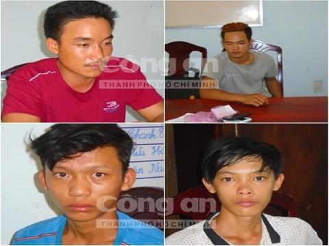 4 nghi phạm cưỡng bức tập thể một phụ nữ đang mang thai