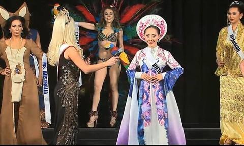 MC Đỗ Phương Thảo giành giải Hoa hậu được yêu thích nhất tại Mrs Universal 2016