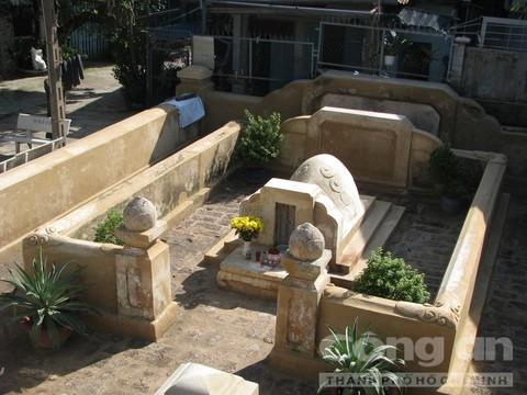 Toàn cảnh khu mộ tiền hiền Tạ Dương Minh mới được trùng tu, khang trang, sạch đẹp
