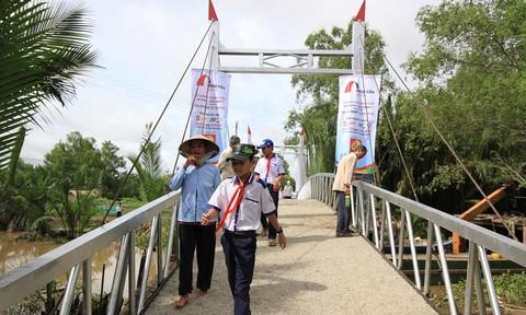 Khánh thành cầu dây văng tại tỉnh Sóc Trăng