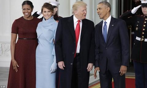Trump đến Nhà Trắng gặp Obama: Ngày nhậm chức bắt đầu