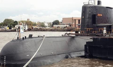 Nga tham gia công tác tìm kiếm tàu ngầm Argentina