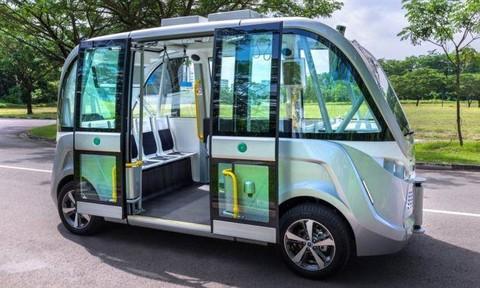 Singapore dự kiến khai trương tuyến buýt không người lái từ năm 2022