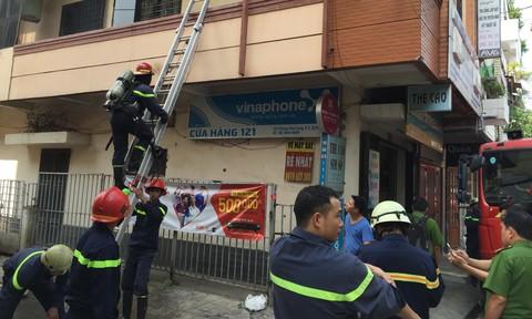 Kịp thời dập tắt đám cháy ở Phú Nhuận