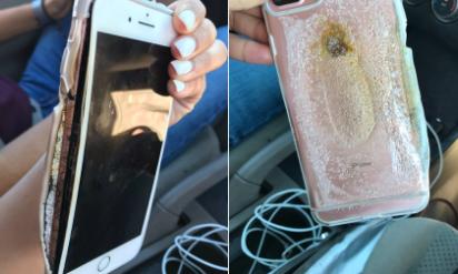 iPhone 7 Plus bất ngờ bốc cháy và phát nổ