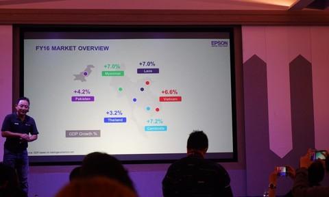 Tập đoàn Epson: Việt Nam dẫn đầu với 55% thị phần tại  khu vực CLMV năm 2016