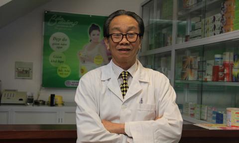 GS Nguyễn Đức Vy Giám đốc BV Phụ sản Trung Ương mất ngủ và bốc hỏa thường do nội tiết tố nữ gây ra