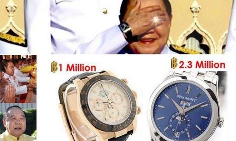 Vụ đeo đồng hồ đắt tiền: Phó thủ tướng Thái Lan quyết không từ chức