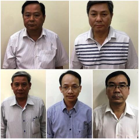 Các ông Nguyễn Hữu Tín, Đào Anh Kiệt, Trương Văn Út, Lê Văn Thanh và Nguyễn Thanh Chương bị khởi tố