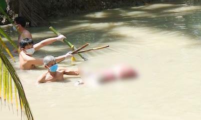 Vụ thi thể phụ nữ bị trói, dìm dưới nước: Xác định nghi can
