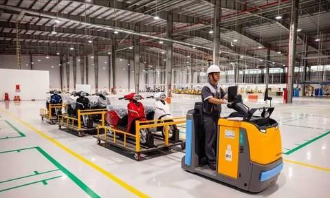 Công nghệ hiện đại bên trong nhà máy VinFast eScooter