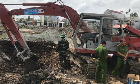 Hai người bị thương sau tiếng nổ lớn từ dưới đất