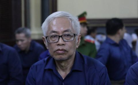 Bị cáo Trần Phương Bình tại tòa.