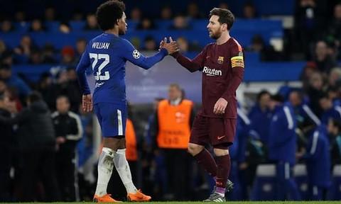 Hòa Chelsea, Barcelona chiếm lợi thế ở trận lượt về