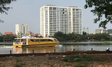 Buýt đường sông ở Sài Gòn giờ ra sao?