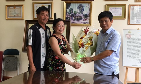 Nạn nhân cám ơn Báo Công an TP.HCM và Công an Q.Tân Phú