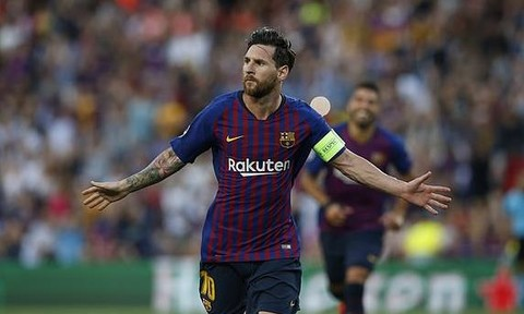 Messi lập hat-trick, Barcelona có khởi đầu thuận lợi