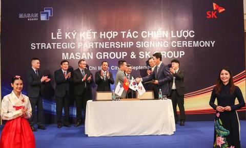 SK Group trở thành nhà đầu tư nước ngoài lớn nhất của Masan Group