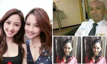 Cơ trưởng MH370 từng gạ tình hai người mẫu sinh đôi