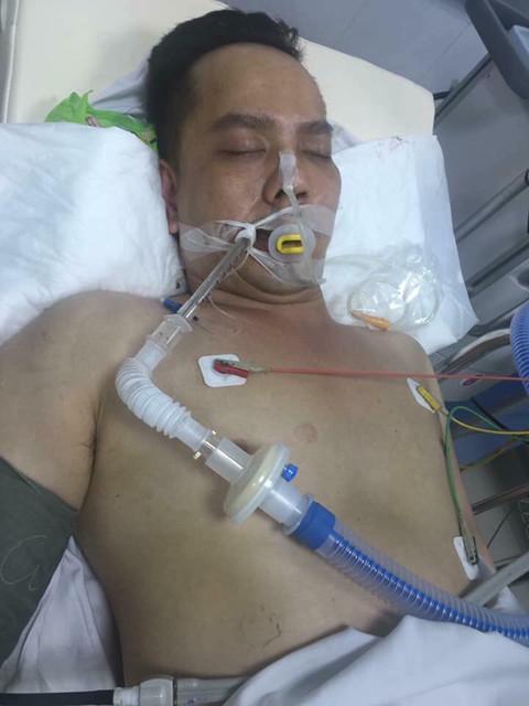 Anh Duẩn lúc bị thương nặng được cấp cứu, sau đó tử vong.