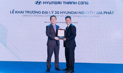 Chính thức khai trương showroom 3S Hyundai Nguyên Gia Phát